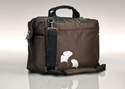 Overnight Tote - Brown Gingko