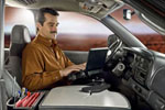 RoadMaster Truck Desk with Netbook Stand