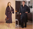 Silk Robes - Charmeuse Silk Bathrobe by Dreamsack