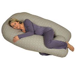 Back N Belly Chic - Contoured Body Pillow