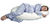 Snoogle Original Total Body Pillow