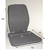 Memory Foam Seat Back Rest Cushion - Sacro Ease Trimet CF