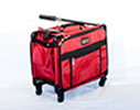Sewing Machine Luggage with Rolling Wheels, Tutto