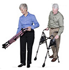Contemporary Metro Walker - Portable Adjustable Lightweight Stander Walker