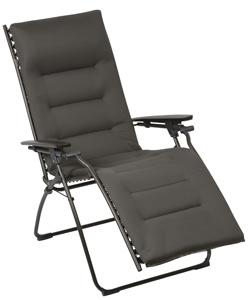 lafuma recliner evolution air comfort acier padded. Black Bedroom Furniture Sets. Home Design Ideas