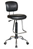 Ergonomic Drafting Chair with Teardrop Footrest - Office Star Chair DC420V