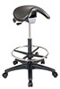 Backless Stool with Saddle Seat - Office Star Chair ST205
